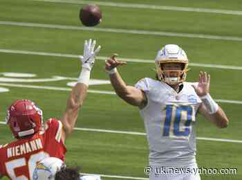 Herbert gets full week of practice as Chargers host Panthers