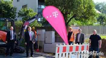 Telekom startet Glasfaser-Ausbau in Vilseck - Onetz.de