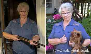 Grandmother, 78, holds up attempted home invader with a SHOTGUN