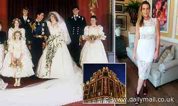 Socialite, 53, who was bridesmaid at Princess Diana's wedding admits shoplifting £680 Max Mara coat