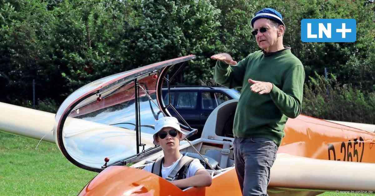 Flugtalent (15) hebt allein in Wahlstedt mit Segelflugzeug ab - Lübecker Nachrichten