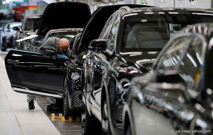 UK car output falls by nearly half in August