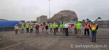 Puerto de Arica conmemora Día Nacional del Trabajador Portuario - PortalPortuario