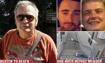 Son's fury as Irish tradies accused of the bashing murder of his dad flee the country