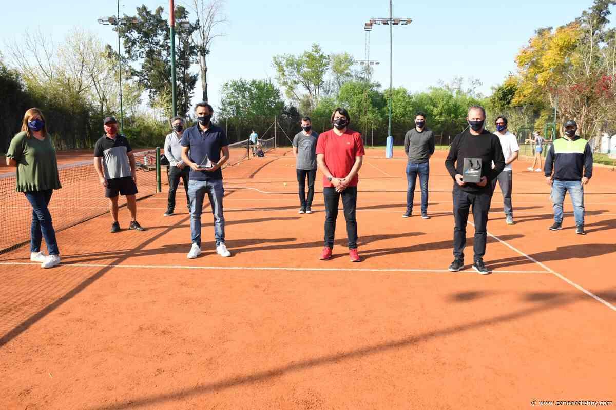 San Fernando y Mariano Zabaleta junto a la Asociación Argentina de Tenis recorrieron los clubes de la ciudad para supervisar protocolos - zonanortehoy.com