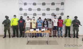Cae red de narcomenudeo en Chinú, tres fueron enviados a la cárcel y cinco para la casa - LA RAZÓN.CO