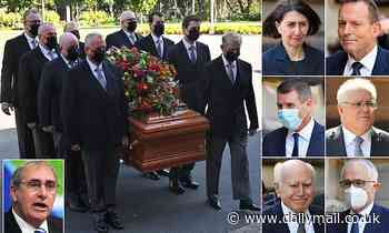 Former NSW Premier John Fahey laid to rest on Friday