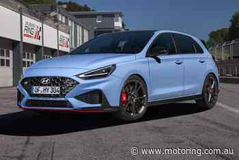 More muscle for Hyundai i30 N