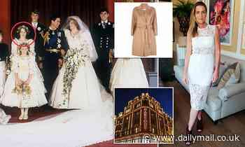 Socialite, 53, who was bridesmaid at Princess Diana's wedding admits stealing £680 Max Mara coat