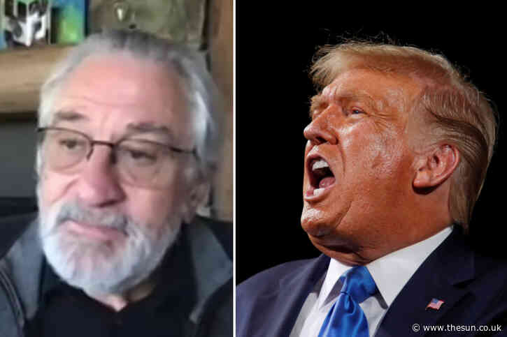 Trump-hater Robert De Niro says if 'criminal' President is reelected 'we're into Fascism American-style' in furious rant