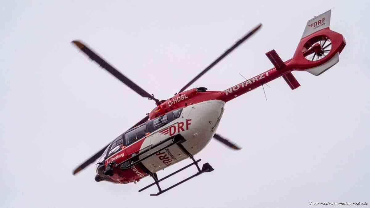 Schopfloch: 24-Jähriger bei Unfall lebensgefährlich verletzt - Schopfloch - Schwarzwälder Bote
