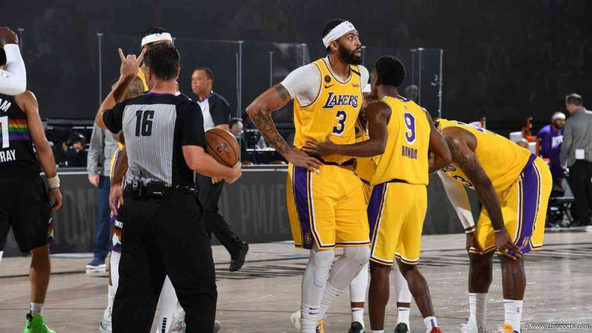 Anthony Davis ankle injury: Lakers star says he 'rolled it pretty bad' but is 'good enough to play'