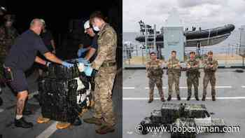 Royal Navy vessels Argus, Medway seize £81m worth of cocaine - Loop News Cayman