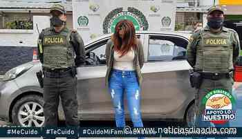 Detienen mujer con vehículo robado entre Sibaté y Fusagasugá,... - Noticias Día a Día