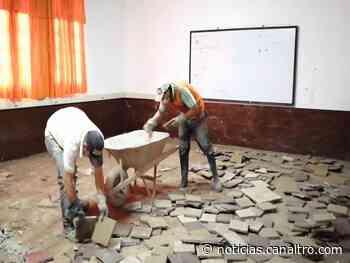 Obras en el Colegio Nuestra Señora de La Merced de Ragonvalia - Canal TRO