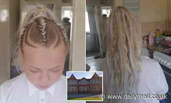 Schoolgirl told to remove braided hair extensions as father blasts school for 'discrimination'