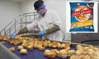 Long-serving worker at Aunt Bessie's Yorkshire pudding plant dies two weeks after Covid outbreak