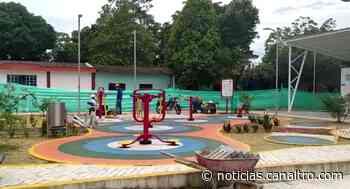 En Cubará reinician obras del parque - Canal TRO