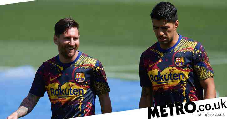 Lionel Messi aims swipe at Barcelona in farewell message to Luis Suarez