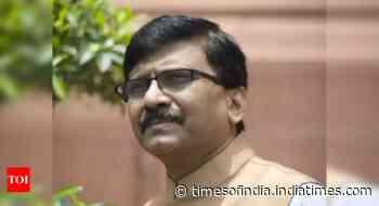 Is coronavirus pandemic over now?: Sanjay Raut on Bihar poll dates - Times of India