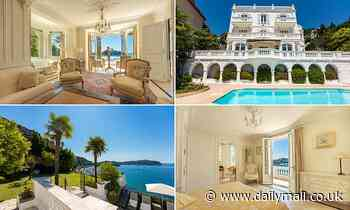 French villa close to Errol Flynn's home on the Cote d'Azur on sale for £6.2million
