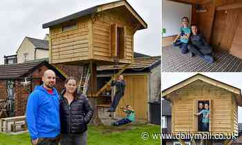 Couple win battle with council after being told they needed planning permission for treehouse