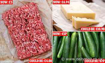 Prices of imported cheese could rise by 57 per cent if no free trade deal is reached with Europe