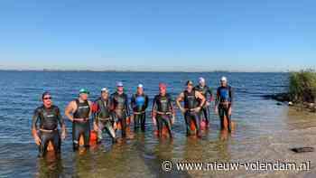 Zwemtocht Marken-Monnickendam-Volendam - Nieuw-Volendam