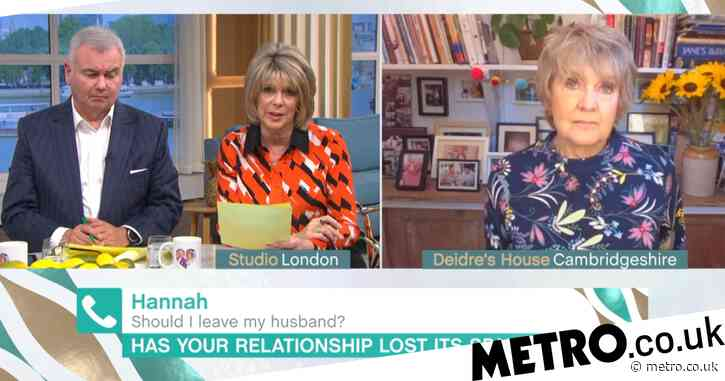 This Morning caller says she married the wrong man 12 years ago: 'We haven't slept together for nine years'