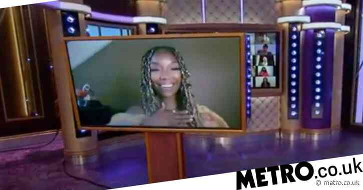 Wendy Williams' socially distanced interview with Brandy Norwood is a real trip