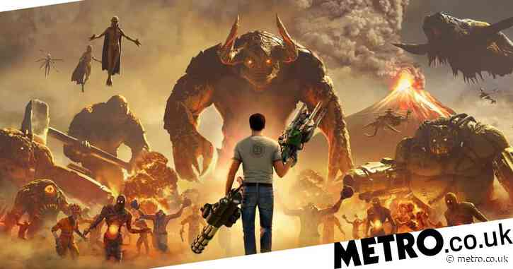 Serious Sam 4 review – seriously old school