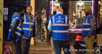 Curfew inspectors patrol as 10pm rule sparks travel chaos as pubs empty en masse