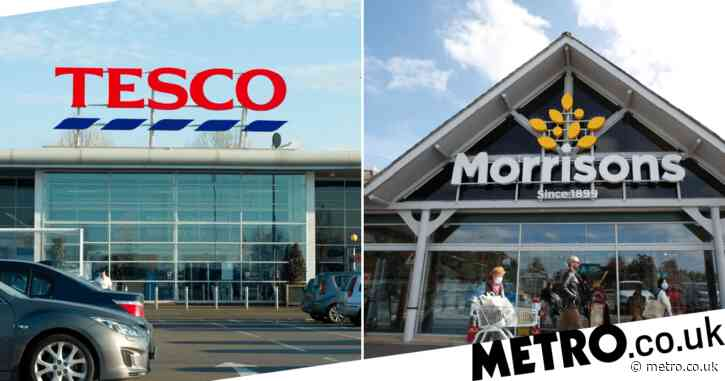 Which products are being limited at Tesco and Morrisons and why?