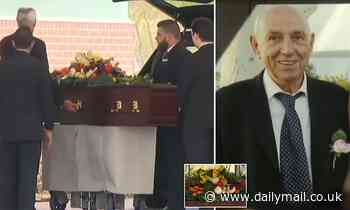 Grandfather who was attacked in his own front yard in a crime that shocked Australia is laid to rest