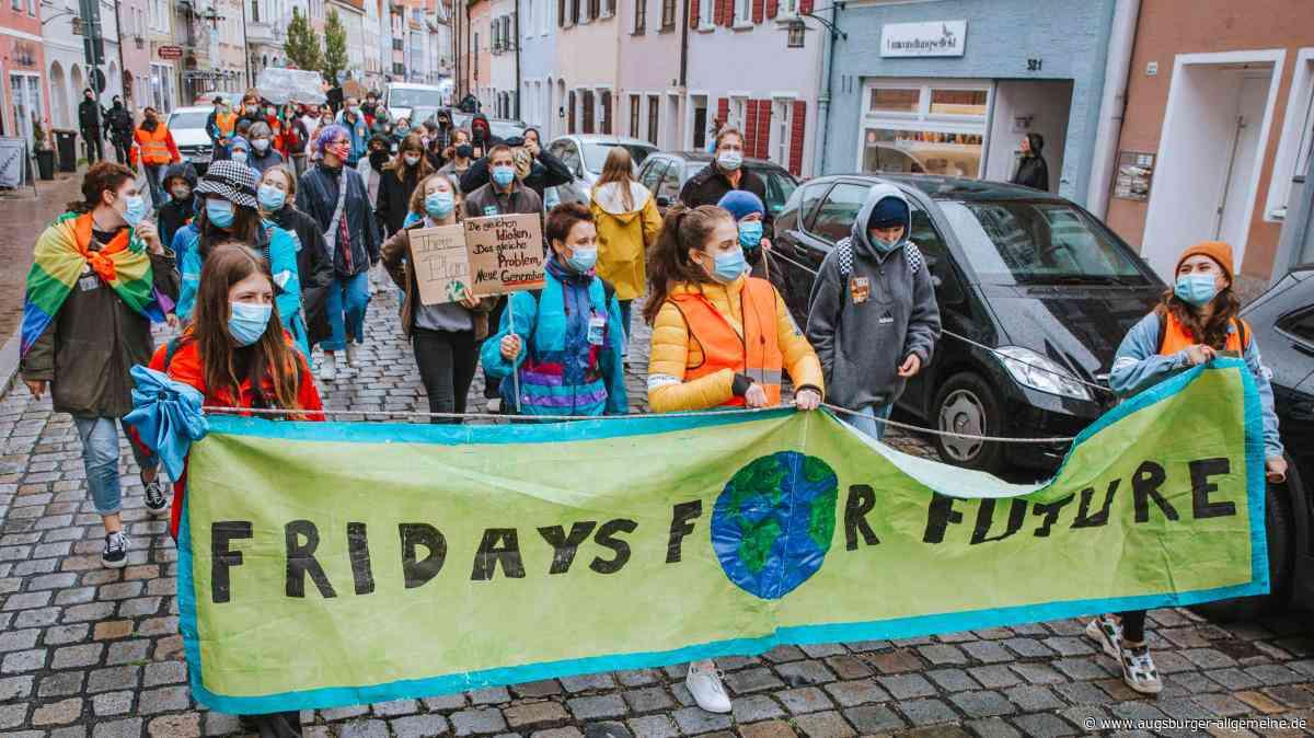 Klimaschutz: Fridays for Future geht in Landsberg wieder auf die Straße