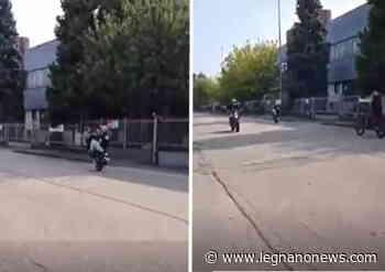 Stop alle gare di moto nella zona industriale di Cerro Maggiore - LegnanoNews