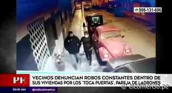 Zarumilla: vecinos denuncian contantes robos - El Comercio Perú