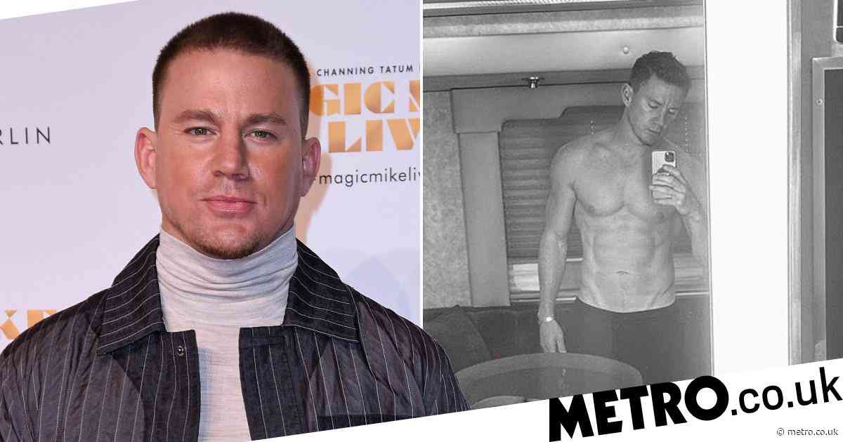 Channing Tatum opens up on fitness journey as he shares shirtless selfie