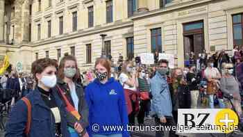Gemeinsam mit Maske und Abstand für mehr Klimaschutz