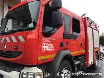 Evian-les-Bains : une voiture incendiée avenue des Mémises - lessorsavoyard.fr