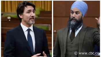 Liberals, NDP reach deal on sick leave, avoiding immediate election