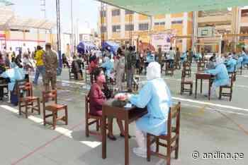 Operación Tayta en Ferreñafe aplicó 285 pruebas rápidas y 194 dieron negativas - Agencia Andina
