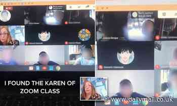 'Zoom Karen' interrupts granddaughter's class to complain about BLM