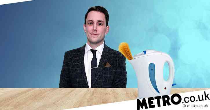 Chris Stark boiled pasta in a kettle while he was a university student because of course he did