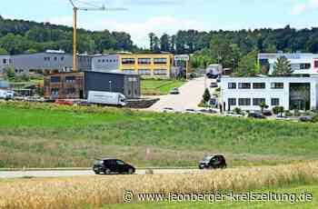 Neuenbühl in Flacht: Weissach erweitert sein Gewerbegebiet - Weissach - Leonberger Kreiszeitung