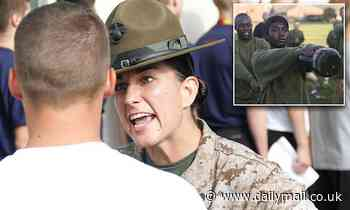 Female drill instructors are heading to all-male Marines boot camp in San Diego
