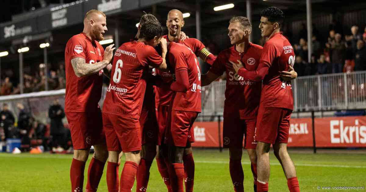 Cambuur haalt uit tegen tegen Jong Utrecht, tweede overwinning voor MVV
