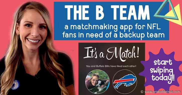 Rowe Report: Find your backup NFL team with 'The B Team' matchmaking app