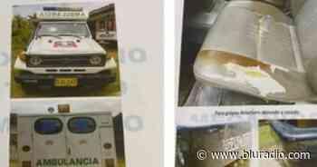 Investigan desaparición de ambulancia del Hospital de Valle de San José que iba a ser rematada - Blu Radio