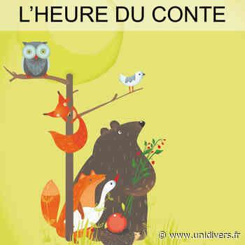 L'heure du conte Médiathèque du Canal mercredi 14 octobre 2020 - Unidivers